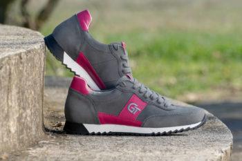 G&T Aktív Hamu Pink női bőr sportcipő