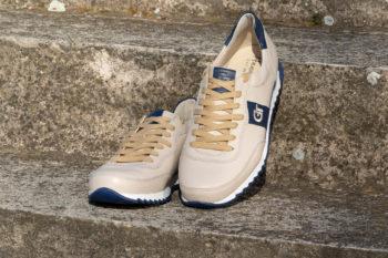 G&T Aktív Latte Macchiato - Óceán bőr sportcipő