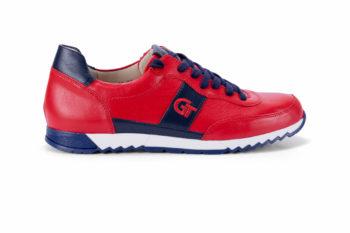 G&T Aktív Piros - Óceán bőr sportcipő