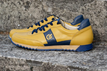 G&T Aktív Okker - Óceán bőr sportcipő