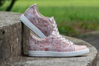G&T Trend Plusz Barack Virág női bőr sneaker cipő