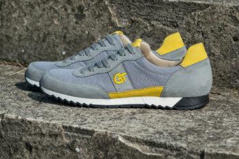 G&T Aktív Szürke Textil - Citrom sportcipő