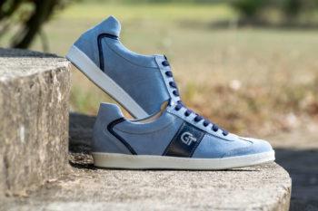 G&T Pro-20 Acélkék - Óceán bőr sportcipő