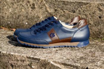 G&T Aktív Óceán - Sziena nappa bőr sportcipő