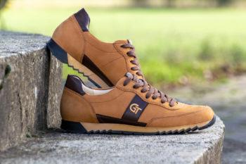G&T Aktív Szahara - Sziena bőr sportcipő