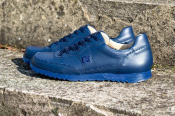 G&T Aktív Óceán nappa bőr sportcipő
