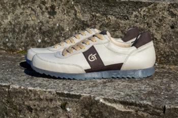 G&T Aktív Latte - Brazil bőr sportcipő
