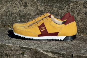 G&T Aktív Méz - Bordó bőr sportcipő