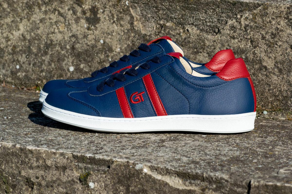 G&T Klasszikus Óceán - Piros bőr sportcipő