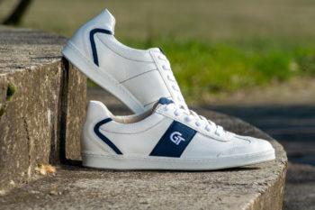 G&T Pro-20 Fehér - Óceán barkás bőr sportcipő