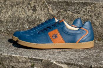 G&T Pro-20 Óceán - Karamell bőr sportcipő