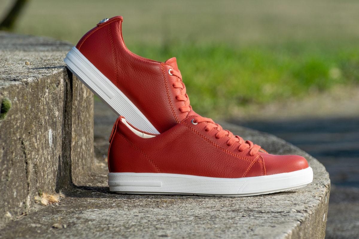 G&T Trend Rozsdavörös sneaker cipő