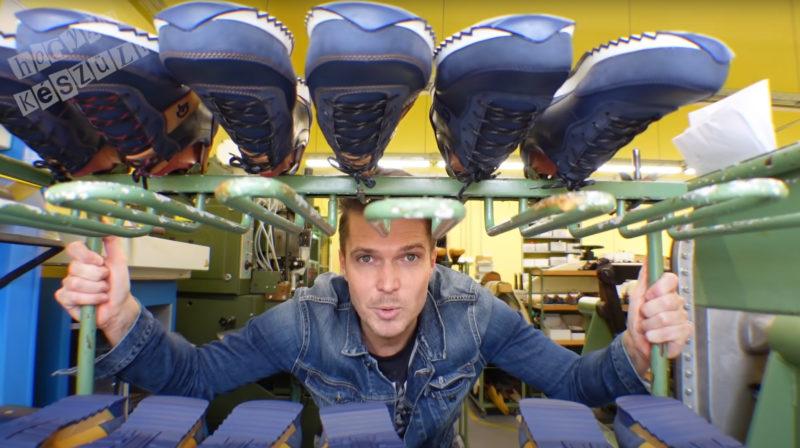Gyetván Csaba - Hogyan készül a sportcipő