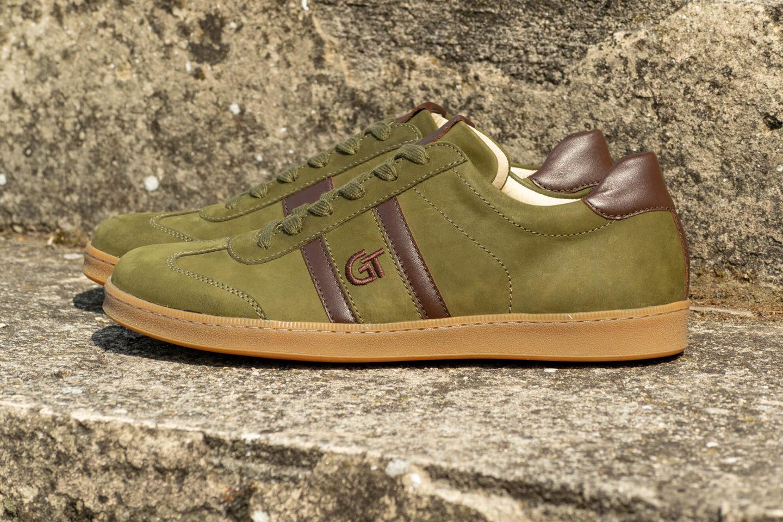 G&T Klasszikus Vadász bőr sportcipő