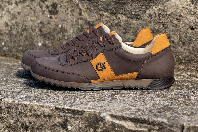 G&T Aktív Brazil - Szahara nubuk bőr sportcipő