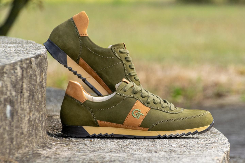 G&T Aktív Vadász - Szahara nubuk bőr sportcipő