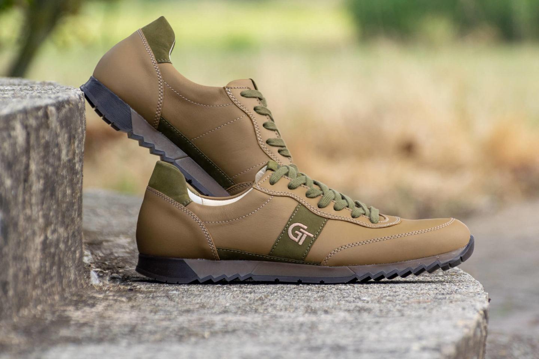 G&T Aktív Keki - Vadász bőr sportcipő